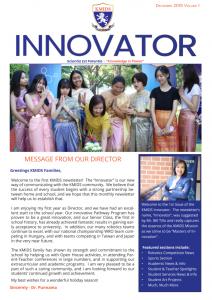 KMIDS Innovator Newsletter