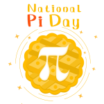 —Pngtree—national pi day hand-painted yellow_5592476